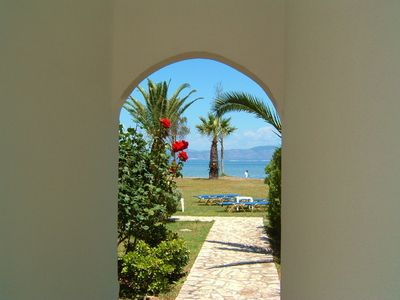 Photo for Studios and Apartment on the beach on Corfu island