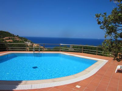 Photo for Casa Rosa Tre: wonderful seaview