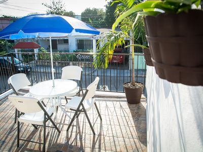 Photo for NEW! Room Fully Equipped in Downtown, king bed, a/c, frigobar &15 min. from sea.