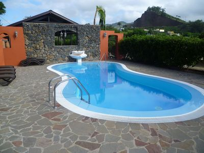 Photo for Beautiful private villa for 10 guests with WIFI, hot tub, pool, TV and parking