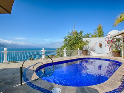 Photo for ROMANTIC VILLA W PRIVATE POOL , JACUZZI, STAFF & OCEAN VIEWS, EASY TO GET BEACH