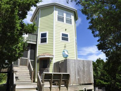 Photo for Birds Eye View: Pet friendly home with marsh views.