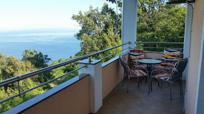 Photo for Bright apartment above Opatija