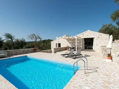 Photo for Villa Effie - Lovely Villa with Private Pool, close to the Beach, ideal for Couples or a Single Holidaymaker ! - FREE WiFi