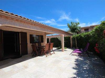 Photo for Pretty corner villa located in TAMARIS, airconditioning, 3 bedrooms, WIFI, at only 600m from the...