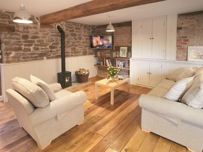 Photo for A dog friendly holiday cottage the property benefits from access to orchards for strolls and picnics