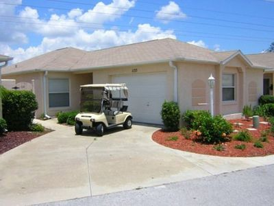 Photo for Villa Spanish Springs The Villages golf cart guest passes