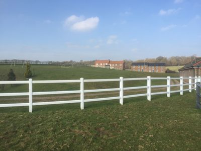 Photo for Peaceful modern house within a Dorset equestrian estate