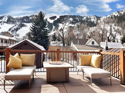 Photo for Perfect location in exclusive West End. Walk to everything! Views of Aspen Mt.