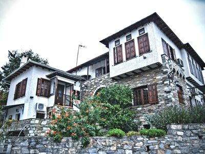 Photo for Pelion house with private barbeque, garden and wonderful view.