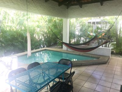 Photo for Gorgeous house with private dipping pool and resort amenities