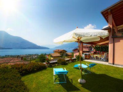 Photo for Lake Como - Turquoise House - with fantastic lake views
