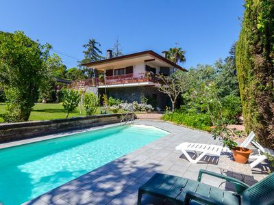 Photo for Club Villamar - Cozy house with a beautiful garden with lawn and private pool situated in a quiet...