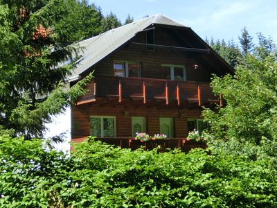 Photo for Cosy apartment in the middle of the Thuringian Forest with separate entrance and balcony