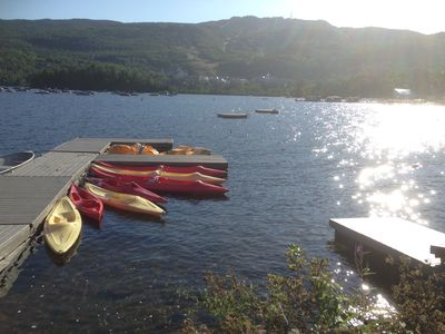 Photo for Spectacular view facing Tremblant Lake @Le Pinoteau Village Resort @Ironman site