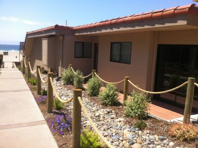 Photo for Pismo Shores Oceanfront Condo w/ Free WiFi, BBQ Grill & Complex Pool