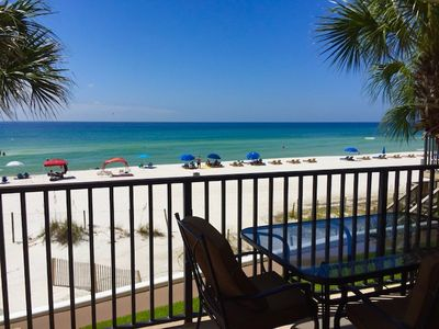 Photo for Beautiful Condo w/ Beach and Gulf View, Pool, Balcony & More