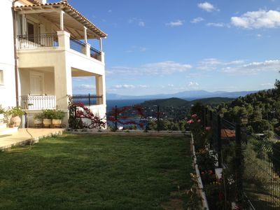 Photo for Villa Sunny in Skiathos offers magnificent view, comfortable staying!!!