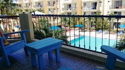 Photo for 1-BD condo in central Sosua, pool/Wi-Fi/cable TV, guest-friendly