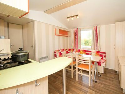 Photo for Holiday Club Les Apricotiers ** - Mobile Home 3 Rooms 4/6 People Semi-covered terrace