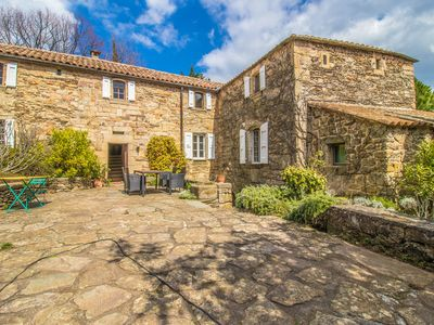 Photo for Old stone country house from the 16th century on the edge of Ardeche and Cévennes