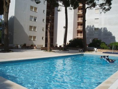 Photo for Apartment with communal pool