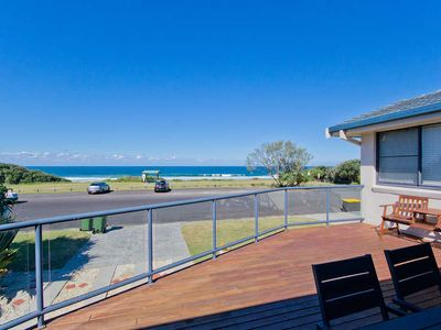 Photo for 4 Bedroom Beach House with endless ocean views!  Fun for the whole family - even the furry ones!