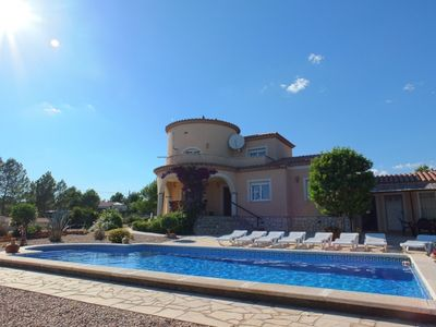 Photo for Villa Oasis, large private pool set in extensive 3,500m grounds.