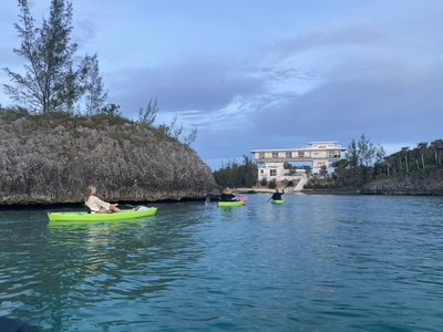 Photo for Spectacular Beachfront Estate on Calm Caribbean Cove; Private Beach, Htd.Pool