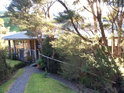 Photo for The Far Pavilion in theTararua foothills. Unique , private, and secluded cottage