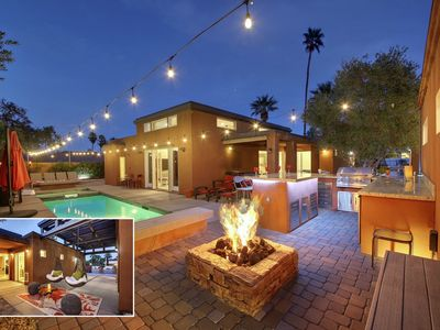Photo for Villa Agave: Pool, Spa, Fire Pit, Ping Pong, Bocce