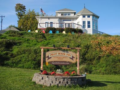 """Photo for Pilot House B & B Bayfield """"Crew's Quarters"""" Sleeps 2, private BA, 1 BK to Ferry"""