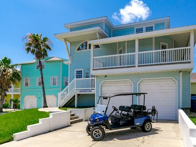 Photo for Holiday Beach House *Free Golf Cart, Boardwalk to Beach, Ocean Views, Pool