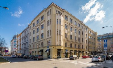 Photo for Vincanto Two Bedrooms Apartment 6 people - Prague 1