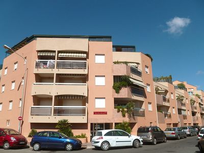 Photo for Apartment 837 m from the center of Fréjus with Lift, Parking, Internet, Washing machine (254217)