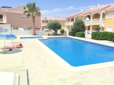 Photo for Pancho Ground Floor Apartment, 2Beds, 1Bath Garden BBQ Swimming Pool - 6 people