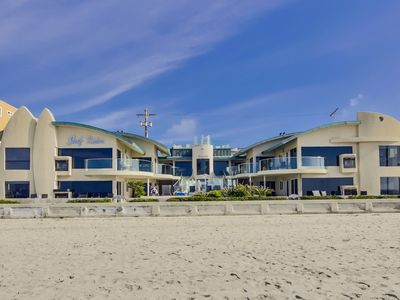 Photo for 2 Bedroom Oceanfront Unit - Watch the Sunset in Your Living Room!