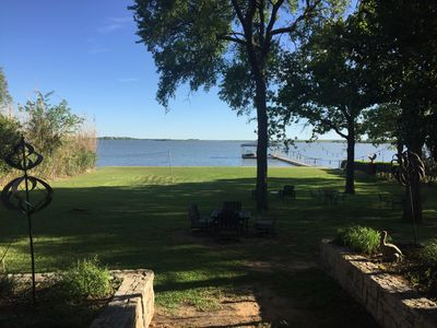 Photo for Beautiful Open Water Lakehouse with Great Views