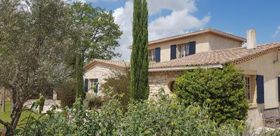 Photo for Modern Provencal villa with pool located near the Gorges de l'Ardèche