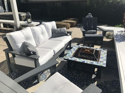 Great Space for outdoor entertaining or relaxing