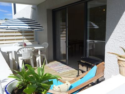 Photo for Beautiful apartment for 2 guests with WIFI, TV, pets allowed and parking