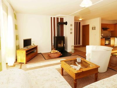 Photo for Ferienhaushälfte Abendrot-2 bedrooms up to max. 4 pers. u. 1Baby - Heydens Holiday Home / HEYD