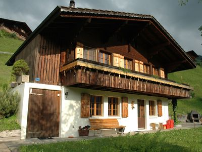 Photo for Detached chalet with view of the Alps, large terrace and veranda