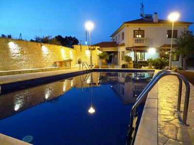 Photo for Villa Panoramica - 5 bedrooms and private pool Limassol distrct
