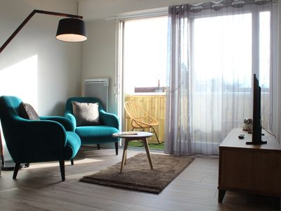 Photo for Cosy apartment in Dijon center with Balcony - Parking