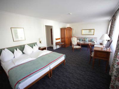 Photo for Double room with balcony and lake view - Romantik Hotel The White Horse