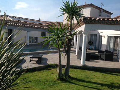 Photo for BEAUTIFUL VILLA 180 M2 WITH SWIMMING POOL WITH SALT 2MN FROM THE BEACH
