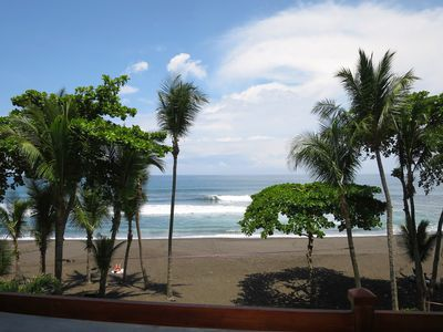 Photo for Oceanfront Rental in Heart of Hermosa - South of Jaco Beach