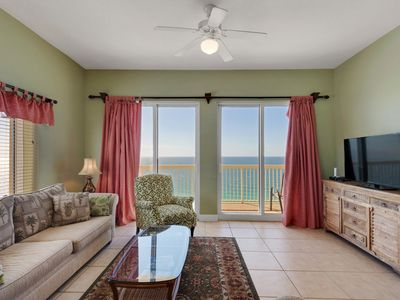 Photo for Penthouse corner unit @ Calypso Towers . Incredible Views.BEACH SERVICE & WIFI
