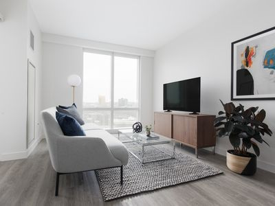 Photo for Sonder | Pierce Boston | Warm 1BR + Gym